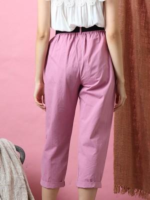 Cottage Core Front Pocket Cargo Pants