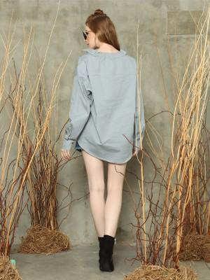 Lily L/Slv oversized shirt