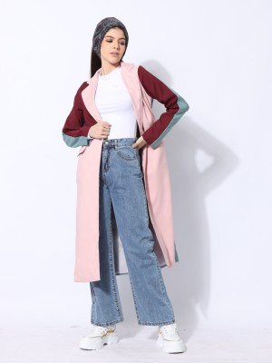 Ramadhan Moon Panel Color Long Blazer