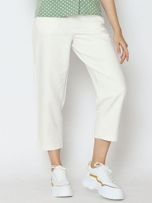 Cottage Core Semi High Waist Loose Pants