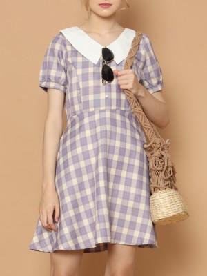 Gingham Aline Dress