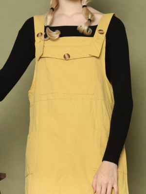 Front Giant Pocket Dungaree