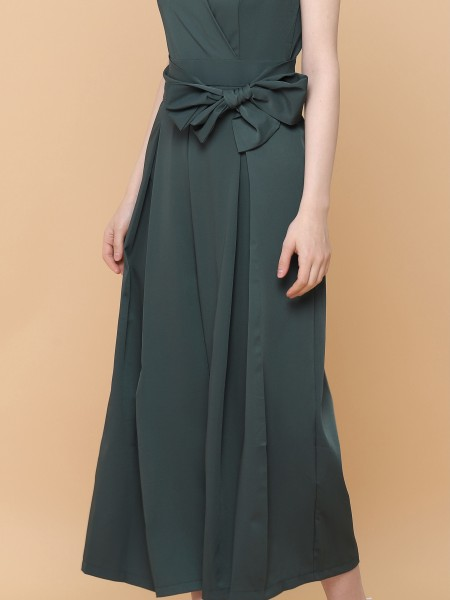 Overlap Long Dress