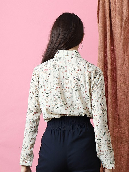 Bloom Flower Print Shirt