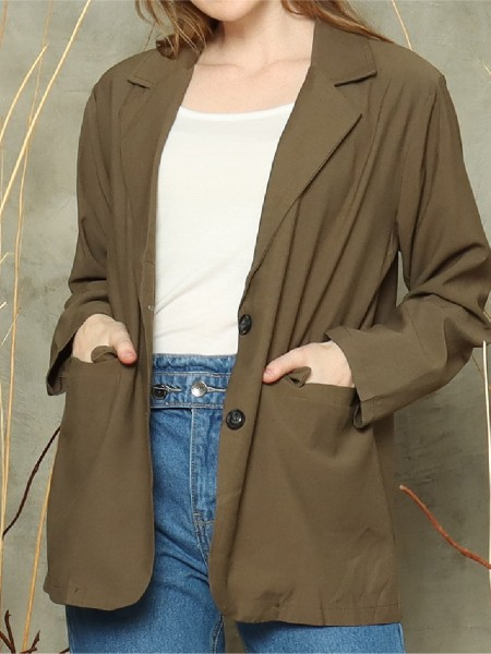 Two-buttons blazer