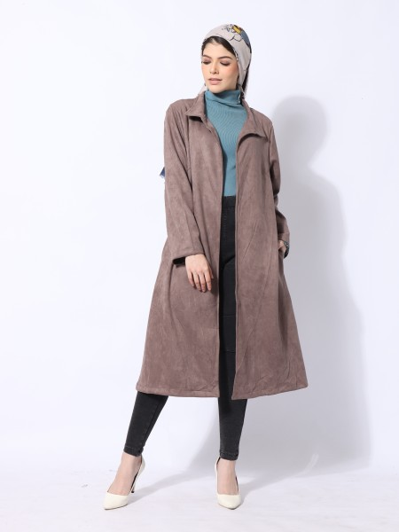 Ramadhan Moon Suede Long Outer