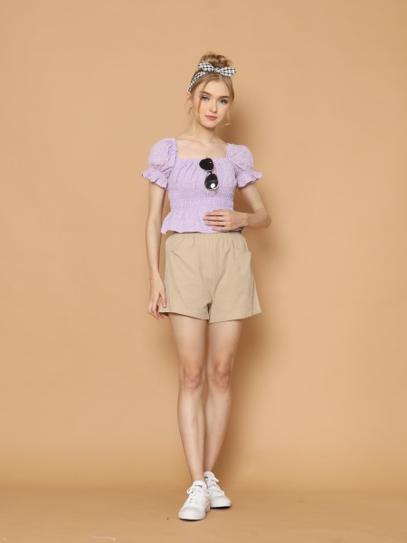 Linen Short Pants