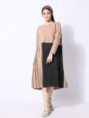 Panel Combi Dress