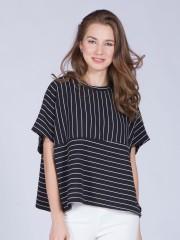 Stripes Boxy Top