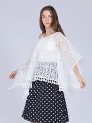 Polkadot Wrap Skirt
