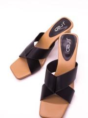 Samantha Cross Front Sandals