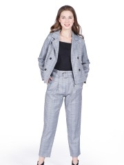 2-Pieces Set Double Breasted Blazer With Long Pants