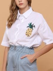 Pineapple Pocket Shirt