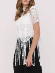 Frill Lace Top