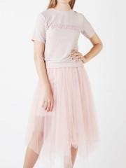 2 Piece Tutu Skirt Bling Top