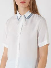 Lace Tied Shirt