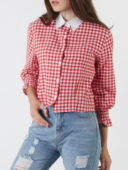 Checkered Red Shirt