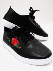 Best buy Rose Embroidered Sneaker