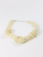 Braided Perl Necklace