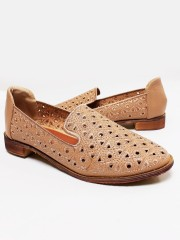 Oxford Embroidery Mules