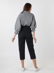 Pull-Out High Waisted Pants