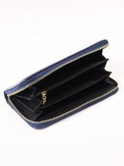 Basic Zipper Long Wallet