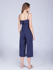 Upper-Folded Jumpsuit