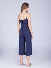 Upper-Folded Jumpsuit