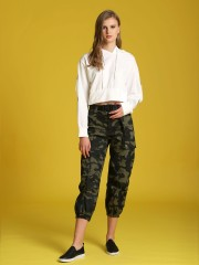 Came Army Print Cargo Pants