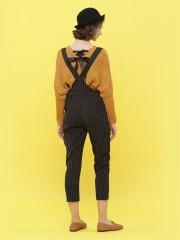 Stripes Printed Jumpsuit