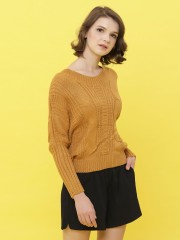 Ribbon Tied Knitted Top