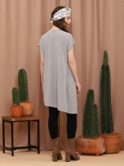 Front Frill Long Top