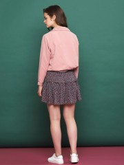 Colored Drawstring Jacket