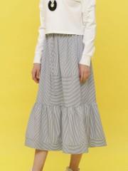 C-SL Bottom Ruffles Skirt