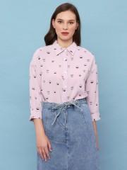 Owl Print Shirt