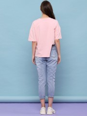 Youth Asymmetris Button Tee