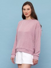 Knitted Low Back Sweat