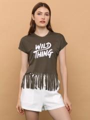 Wild Thing Fringe Crop Top