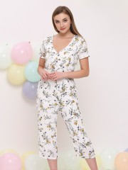 PT Flower Print Jumpsuit