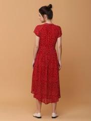 Dotty summer maxi dress