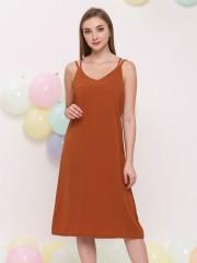 V String Dress