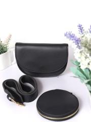 Belted Flip Bag And Coin Bag