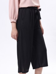 C-Bt Pocketed Culotte With Ribbon Belt