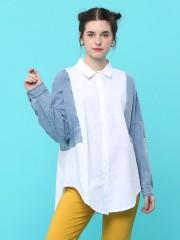 Denim Combine Shirt