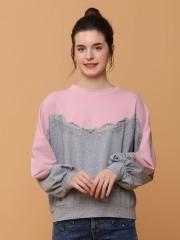 2 Tones Lace Combi Sweater
