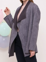 D-Sl Fn Suede Long Outer