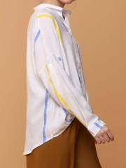 rare colored lines shirt