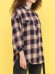 soft retri checkered shirt