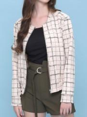 grid lines jacket