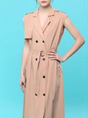Long Vest Coat Dress
